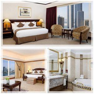 Hilton Sharjah colaj