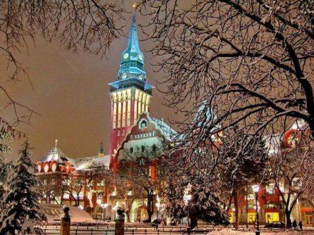 belgrade iarna